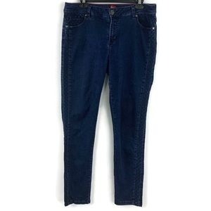 Liverpool Abby Skinny Night Blues Wash Jeans Sz 14